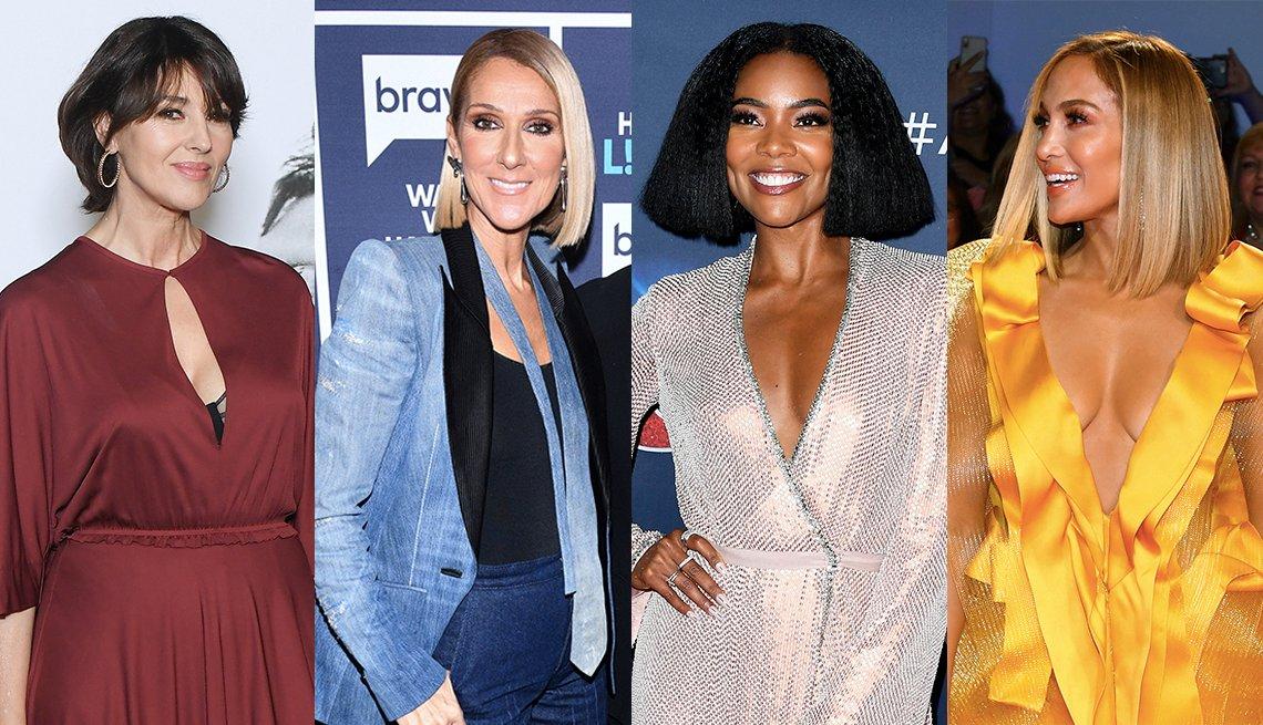 item 1, Gallery image. Monica Bellucci, Celine Dion, Gabrielle Union y Jennifer Lopez