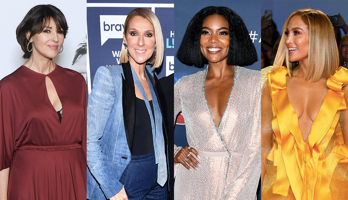 item 1 of Gallery image - Celine Dion, Monica Bellucci, Gabrielle Union and Jennifer Lopez