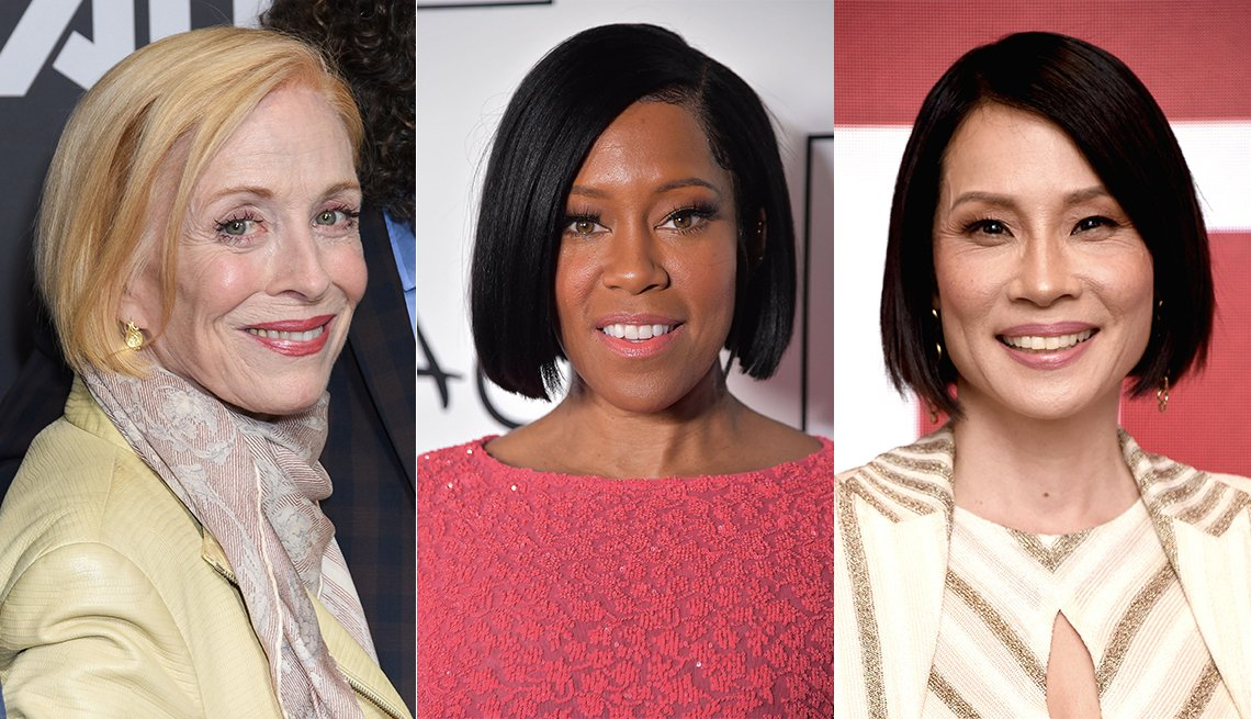 item 3, Gallery image. Holland Taylor, Regina King y Lucy Liu