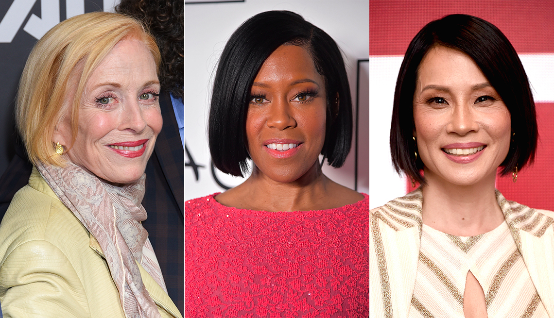item 3 of Gallery image - Holland Taylor, Regina King and Lucy Liu