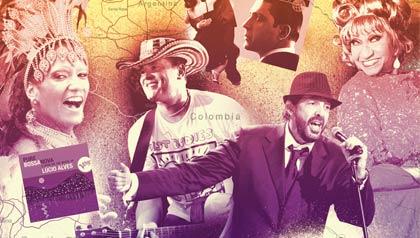 The Sound of Latin Music -- Tito Puente, Celia Cruz, Los Panchos
