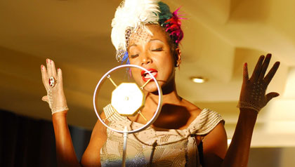 Cantante cubana Lucrecia