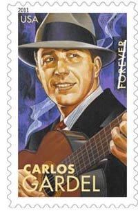 Carlos Gardel: 5 artistas latinos ahora en las estampillas de los Estados Unidos