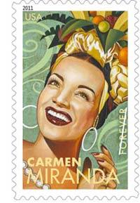 Carmen Miranda: 5 Latin Music Legends on U.S. Postage Commemorative Forever Stamps