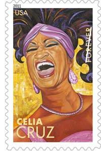 Celia Cruz: 5 Latin Music Legends on U.S. Postage Commemorative Forever Stamps