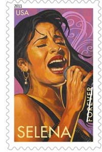 Selena: 5 Latin Music Legends on U.S. Postage Commemorative Forever Stamps