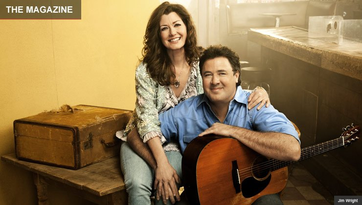 Musicians Amy Grant and Vince Gill