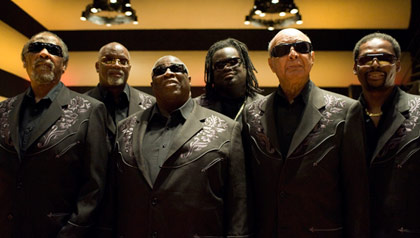 Musical group, The Blind Boys of Alabama