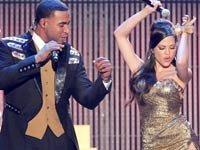 Don Omar y Natti Natasha durante los Premios Billboard a la Música Latina. Miami, 2012.