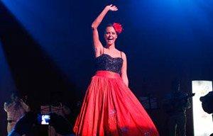 Shaila Durcal canta en la Sesión Acústica del Grammy Latino 2012 en el House of Blues en Dallas, Texas - Rancheras para todos los Gustos