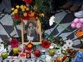 Mosaico conmemorativo en Strawberry Fields en el Parque Central de Nueva York, Beatlemanía.
