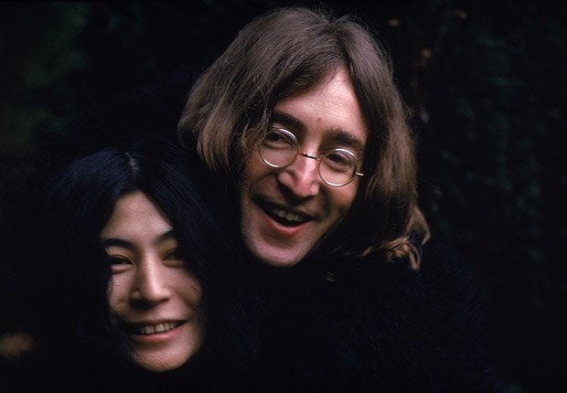 Yoko Ono y John Lennon en 1968, Beatlemanía.