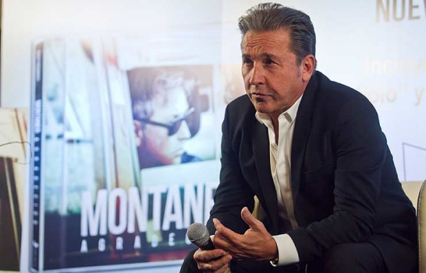 El cantautor venezolano Ricardo Montaner presenta su nuevo álbum 'Montaner agradecido'.