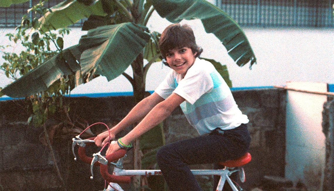 Ricky Martin en la infancia - su vida en imágenes