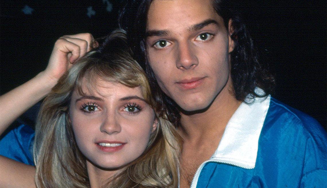 Angélica Rivera y Ricky Martin