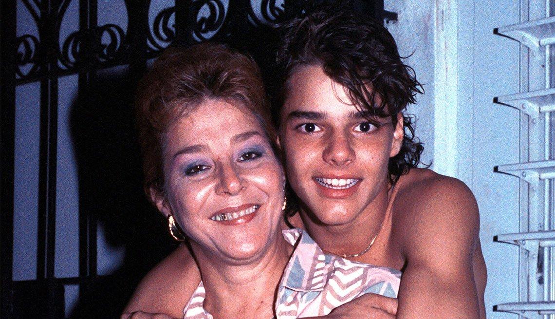 Ricky Martin y su vida en familia