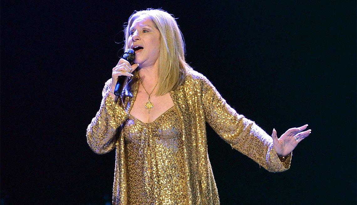Barbra Joan Streisand - Artistas con más de 70