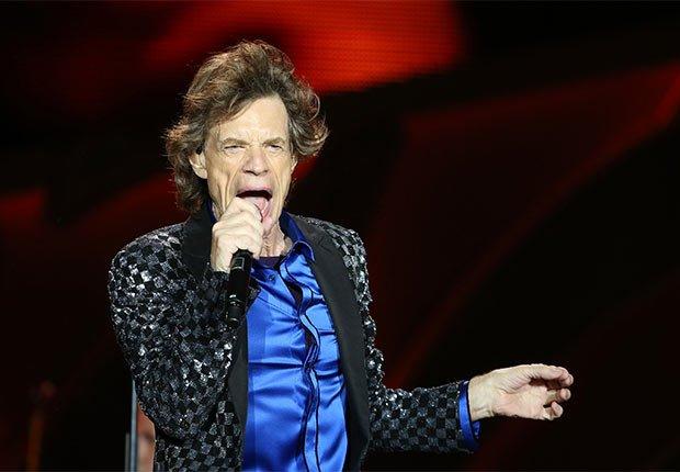 Mick Jagger - Artistas con más de 70 años