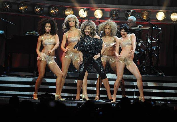Tina Turner - Artistas con más de 70 años
