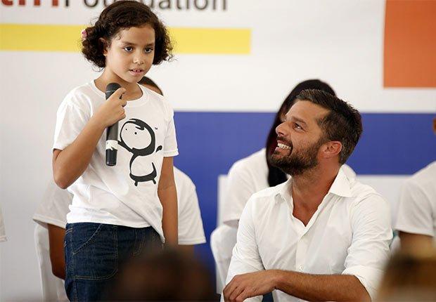 Ricky Martin creó su propia fundación en Puerto Rico