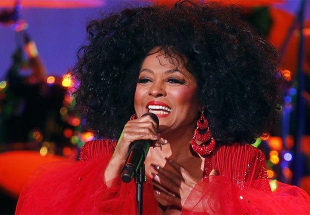 Diana Ross - Artistas con más de 70