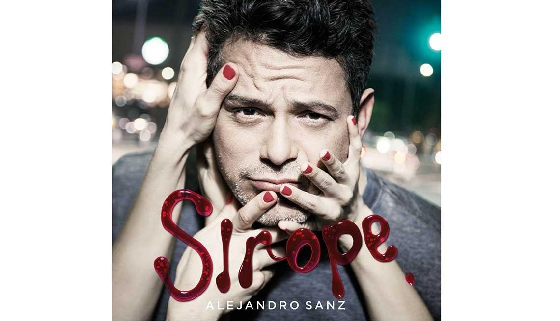 Portada de Sirope, el nuevo álbum de Alejandro Sanz