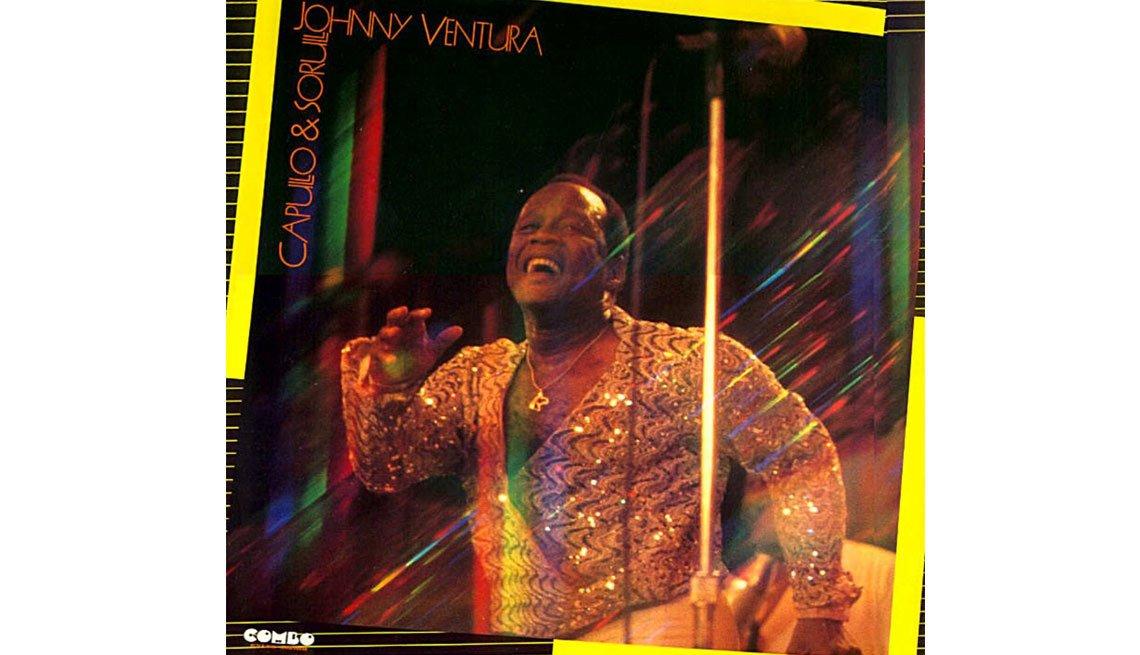 Johnny Ventura y su carrera artística - Portada del disco Capullo y Sorullo
