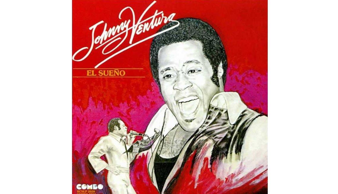 Johnny Ventura - Carrera artística - portada del disco El Sueño