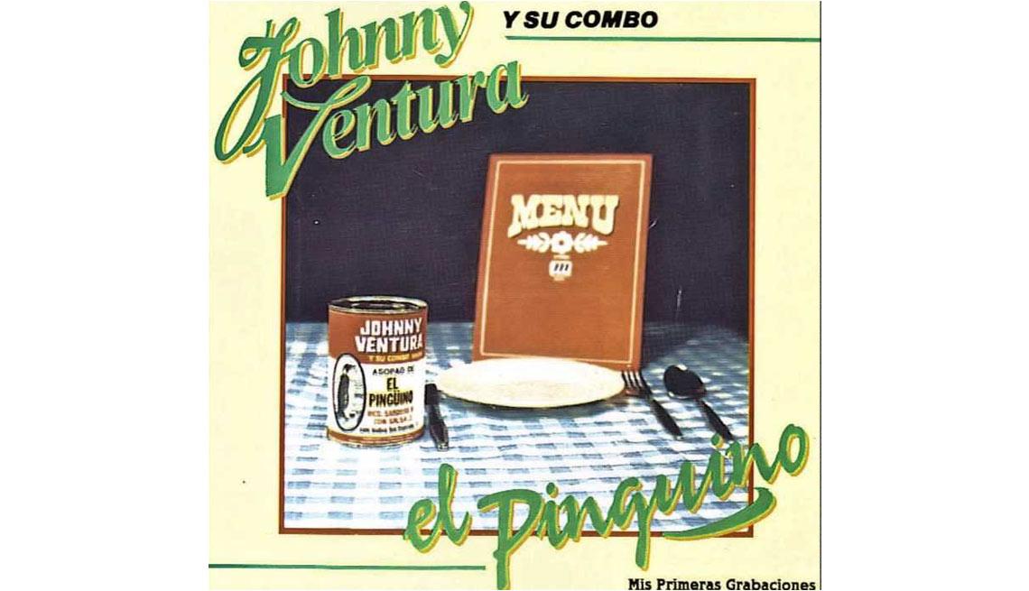 Johnny Ventura y su carrera artística - Portada del disco El pingüino