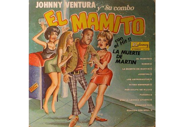 Johnny Ventura y su carrera artística - Portada del disco El mamito