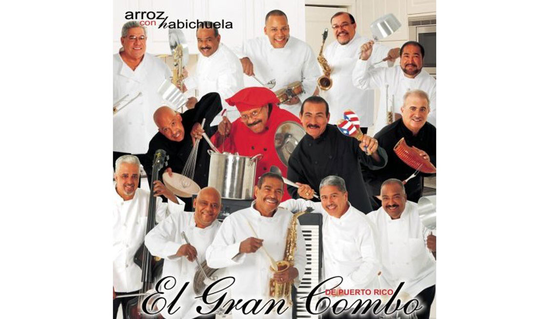 El Gran Combo, portada del álbum Arroz con Habichuela  - Discos que los llevaron a la fama
