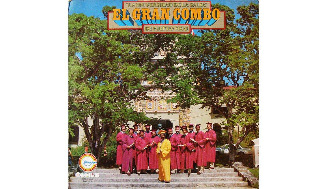 El Gran Combo, portada del álbum La Universidad  - Discos que los llevaron a la fama
