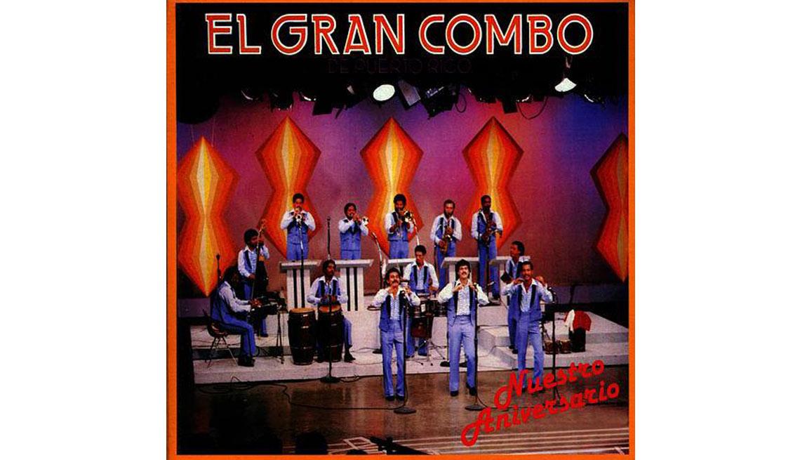 El Gran Combo,  portada del álbum Nuestro Aniversario - Discos que los llevaron a la fama