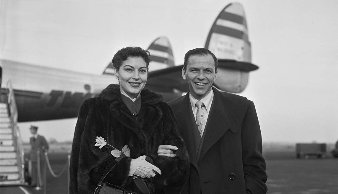 Ava Gardner y Frank Sinatra - 100 años de su natalicio