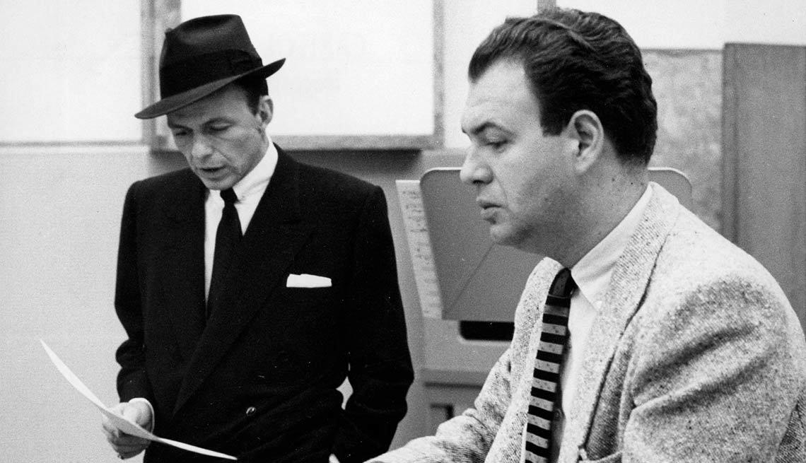 Frank Sinatra y Nelson Riddle - 100 años de su natalicio