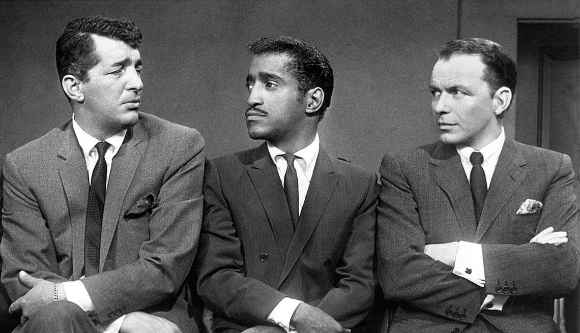 Frank Sinatra, The Rat Pack, Dean Martin y Sammy Davis, Jr. - 100 años de su natalicio