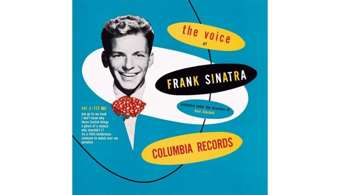 item 2 of Gallery image - Frank Sinatra portada del disco The Voice -100 años de su natalicio