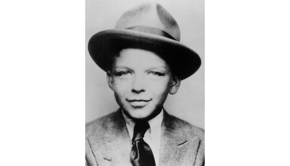 Foto de Frank Sinatra cuando era un niño -100 años de su natalicio