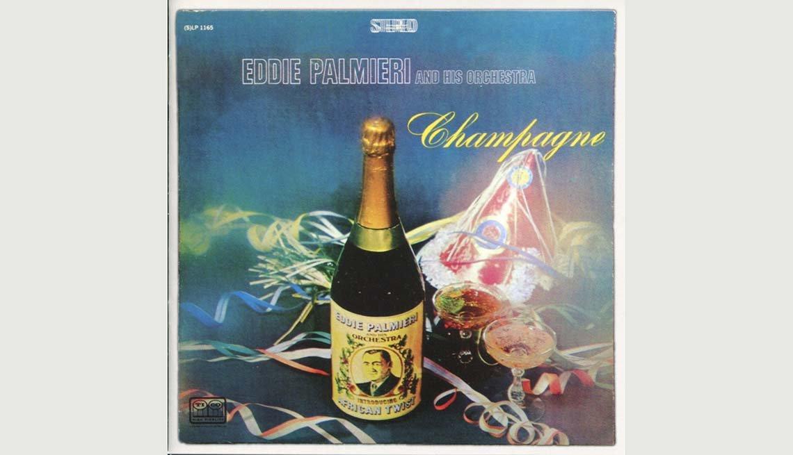 Portada del disco de Eddie Palmieri, Champagne - 10 Canciones representativas del Boogaloo