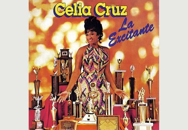 Portada del disco, Celia Cruz La Excitante - 10 Canciones representativas del Boogaloo