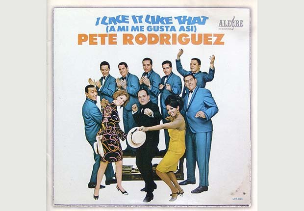 Portada del disco de Pete Rodriguez, I Like it Like That - 10 Canciones representativas del Boogaloo