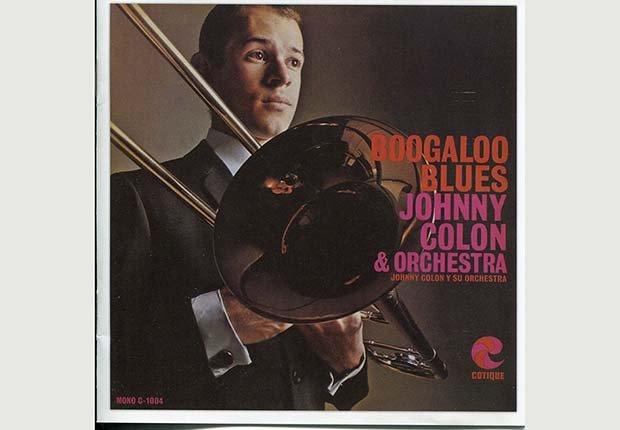 Portada del disco de Johnny Colón y la orquesta Boogaloo Blues - 10 Canciones representativas del Boogaloo