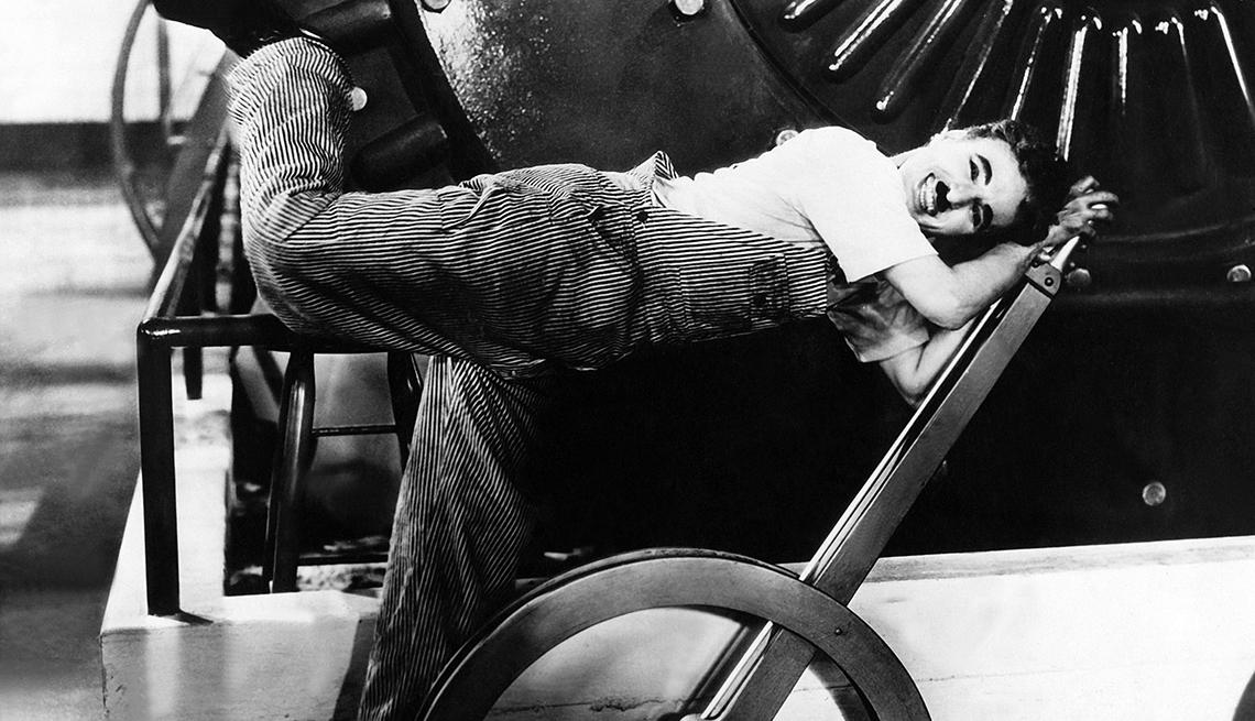 10 películas clave de Charlie Chaplin - Modern Times (Tiempos modernos)(1936)