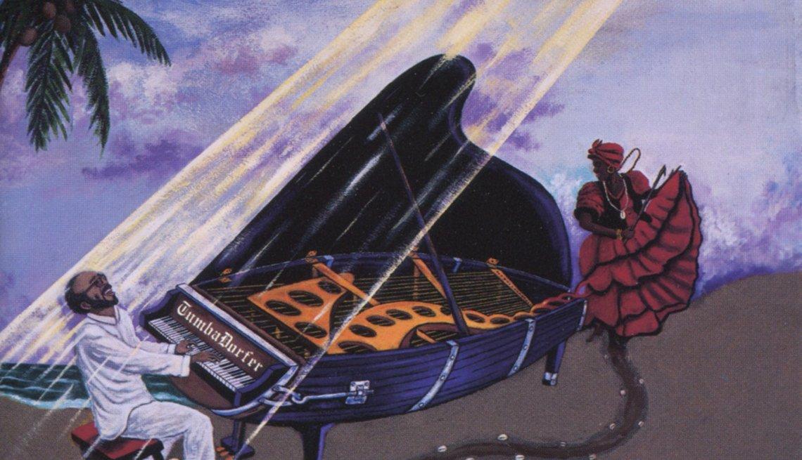 10 discos que han marcado la carrera de Eddie Palmieri - Portada del álbum El rumbero del piano (1998)
