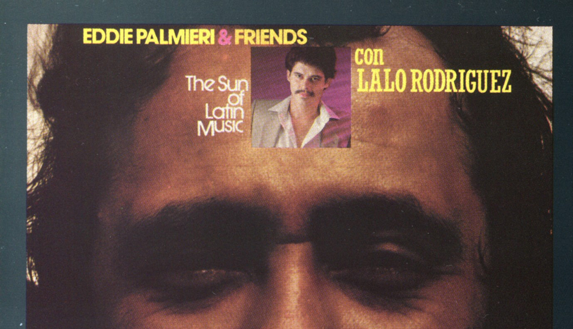 10 discos que han marcado la carrera de Eddie Palmieri - Portada del álbum The Sun Of Latin Music (1974)