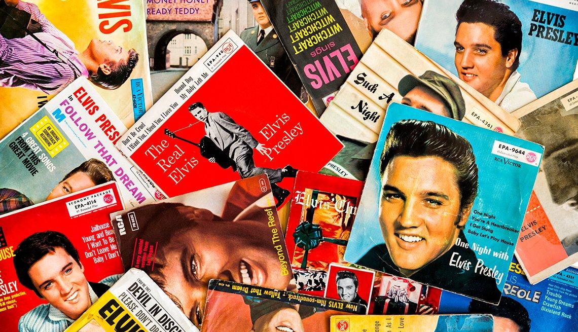 Grandes hitos en la vida y carrera de Elvis Presley - 1954, primeras grabaciones