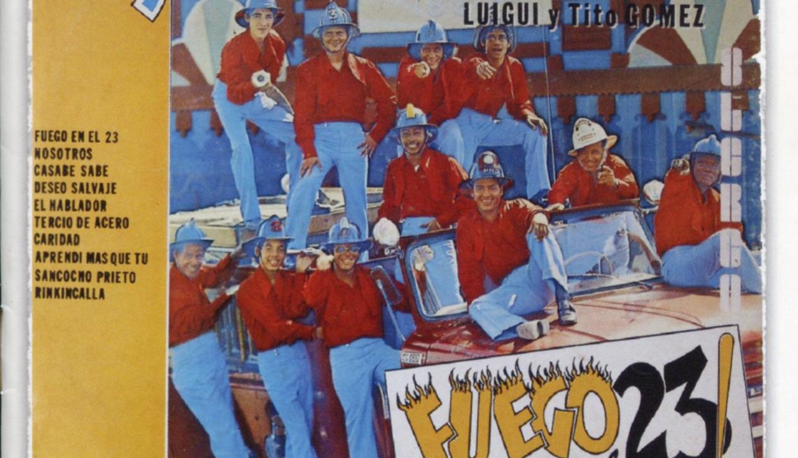 10 discos clave de La Sonora Ponceña, portada del disco Fuego en el 23 (1969)