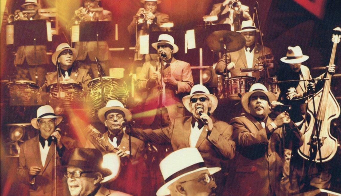10 discos clave de La Sonora Ponceña, portada del disco 55 Aniversario (2009)