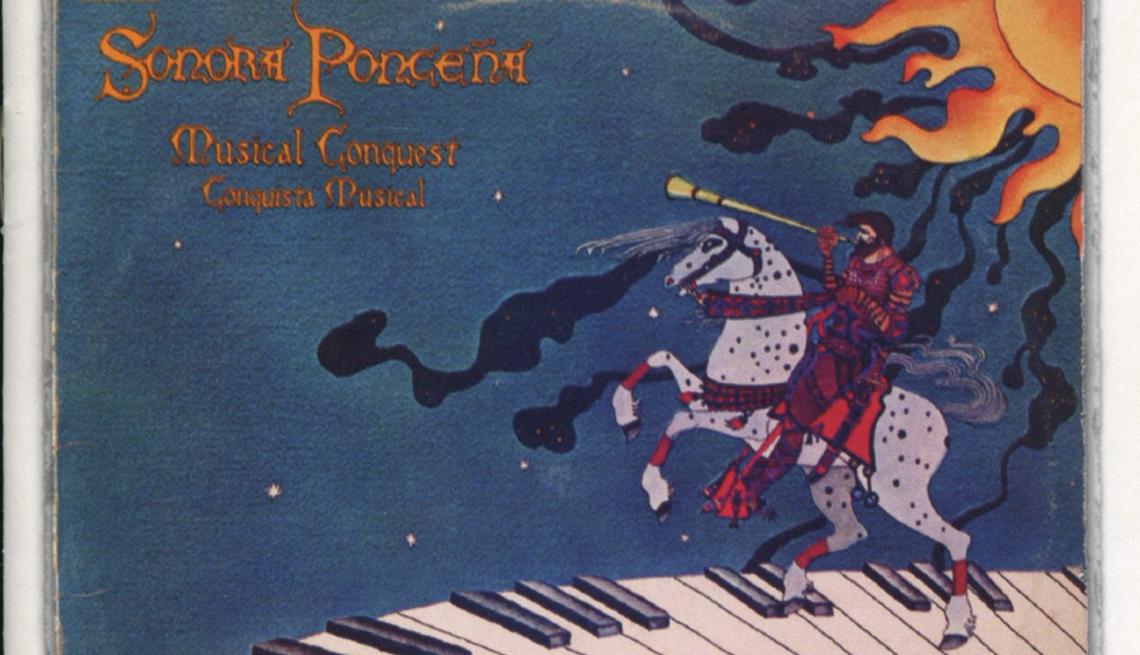 10 discos clave de La Sonora Ponceña, portada del disco Conquista musical (1976)