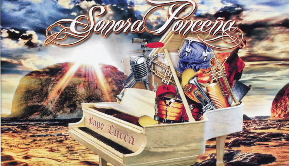 10 discos clave de La Sonora Ponceña, portada del disco Trayectoria + Consistencia = Sonora Ponceña (2010)